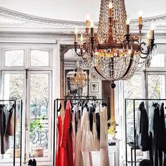 Friday Eye Candy: A Refined Fall Inspiration Dressing Room Closet, Dressing Area, Dressing Rooms, Boutique Interior, A Boutique, Preppy Girl, Luxe Life, Glamour, Urban Chic