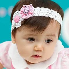 5986985526f Cute Style Girls Children S Double Flower Lace Headbands Baby Hair Band Kids  Infant Hair Accessories Baby Girl Hair Accessories Headbands Hair  Accessories ...