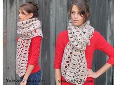 Lana de gran tamaño grueso bufanda accesorios por SWAKCouture