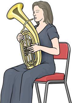 管楽器:ワーグナー・チューバの演奏 (wagnertuba)