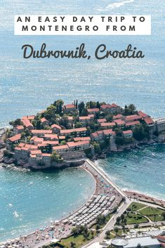 Heading to the Balkans soon, than a Montenegro day trip from Dubrovnik is a must. This post outlines how to take a day trip to Montenegro's best places. Croatia Travel Guide, Europe Travel Guide, Travelling Europe, Traveling, Cool Places To Visit, Places To Travel, Travel Destinations, Romantic Destinations, Backpacking Europe