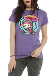 The Mad Hatter is given a fun, and funky, stylized look on this Pop! tee! Includes a mini standee collector card. Hot Topic exclusive!