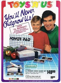 Toys R Us ad for NES