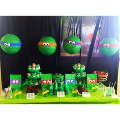 The Cutest Ninja Turtle Birthday Party!