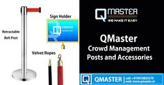 Global Supplier for Crowd Management Posts and Accessories