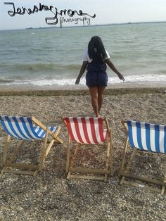 Southend #sea #water #me #deckchairs #seasells .. This is my own photo using my own watermark