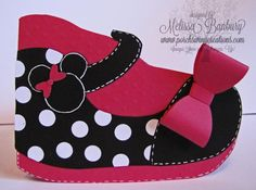 Minnie Mouse Inspired Shoe card