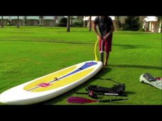SUP Boards » RED PADDLE CO Red Air SUP 10´6 inkl Paddel 2011