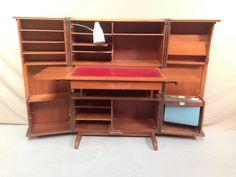 Un bureau box vintage original ! #vintage #bureau #bureaux