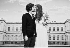 15 Drop Dead Gorgeous City Hall Weddings via Brit + Co.