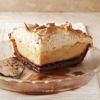 brown-bottom #butterscotch #cashew #cream #pie #recipe