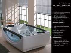 #Whirlpoolbathtub | #Jacuzzibathtub | Waterfall bathtub | Bathtubs in india - GAYLE