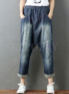 Linen Bottoms - Shop Best Sellers Casual Loose Linen Pants and Cute Linen Jumpsuits Drop Crotch Pants, Hip Hop, Baggy, Overalls Women, Urban Outfits, Linen Pants, Denim Fashion, High Waist Jeans, Style