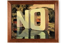 """""""No"""" by Wayne White"""