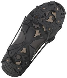 ICETrekkers Spikes Traction Cleats XLarge Mens 10125Womens 11 Black *** Continue to the product at the image link.
