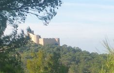 The Area Of Kritinia Castle In Rhodes Offers Tranquility, History And Picture Postcard Views That Will Take Your Breath Away! Picture Postcards, Beautiful Scenery, Rhodes, San Francisco Skyline, Castle, River, History, Pictures, Outdoor