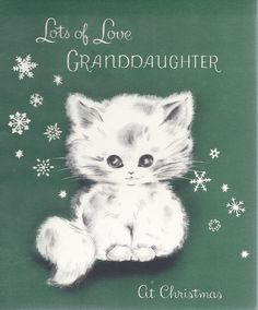 Vintage Christmas Greeting Card by Norcross