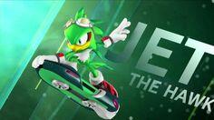 Jet the Hawk (Sonic Riders) Sonic Fan Art, The Sonic, Sonic Boom, Sonic The Hedgehog, Sonic Free Riders, Sonic Heroes, Blue Streaks, Kids Playing, Jet