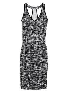 Size XS or S - Printed Tee Racerback Dress | Athleta