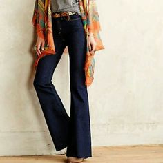 Host pic McGuire for Anthropologie  jeans new.  don't fit me. is absolutely gourgeous Anthropologie Jeans Flare & Wide Leg