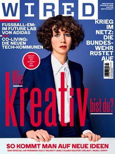 Unsere aktuelle WIRED-Ausgabe mit großem Kreativ-Special und Miranda July