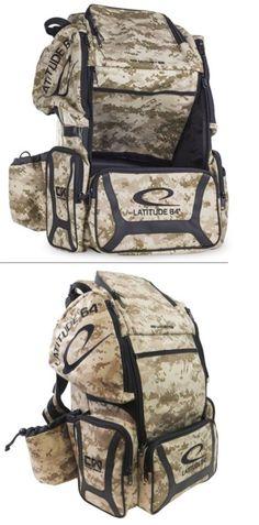 a385de785a6 Disc Bags Caddies 184359  Latitude 64 Dg Luxury E3 Backpack Disc Golf Bag  Digital Camo