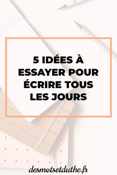 5 idées pour réussir à écrire tous les jours sans manquer d'inspiration, parce que c'est la pratique qui améliore la plume ! #ecriture #ecrire #journal #cahier #carnet Fiction Writing, Writing Advice, Essay Writing, Writing Prompts, Writing Notebook, Writing A Book, Study Tips, Love Book, Content Marketing