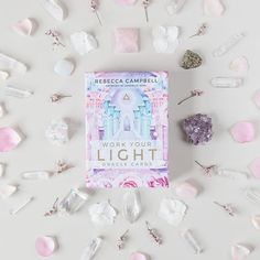 @claudia1merrill // Rebecca Campbell's new deck Work Your Light Oracle