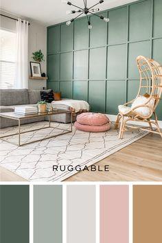 Home Living Room, Living Room Decor, Bedroom Decor, Home Room Design, House Design, Paint Colors For Home, Popular Paint Colors, My New Room, House Rooms