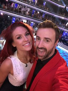 Sharna and her partner, DWTS Season 23