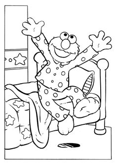 25 Cute Elmo Coloring Pages For Your Little Ones
