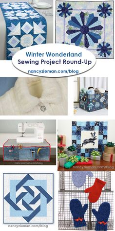 Winter Wonderland Sewing Round Up Project Collection By Nancy Zieman Productions Llc