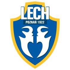 Lech Poznan of Poland crest. Football Team Logos, European Cup, Old Logo, Sports Clubs, European Football, Photo L, Branding Design, Clip Art, Crests