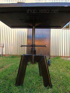 $995 Vintage Industrial Inspired Furniture Table Bases