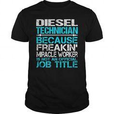 Diesel Technician T Shirts, Hoodie
