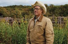 Perhaps the best-known farmer in America, this agricultural rock star preaches the power of sustainable, environmentally responsible methods.