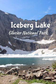 Iceberg Lake was one of our favorite Glacier National Park hikes! Check out this guide for how to get there, what the trail is like, and lots of photos to inspire you! Glacier National Park Montana is full of great hiking, camping, and other adventures. Start planning your road trip with this guide! Bucket List, Travel, Montana Travel, Montana Hiking