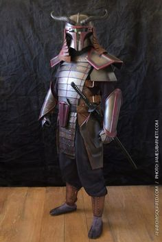 Samurai Boba Fett made by Allen Amis of Anarchy Squared Creations. Sometimes modeled by Anabel Martinez.