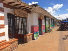 The sweetest town in Colombia, San Antonio de Pereira, is about an hour drive from Medellin