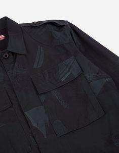 Maharishi | Camo Advisor's Overshirt · Cotton Poplin Purples Night Poplin, Camo, Personal Style, Purple, Cotton, Camouflage, Military Camouflage, Viola
