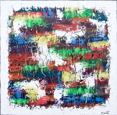 NEW PAINTING  Vibrant Moor IV  100x100 cm  My website: https://artbylonfeldt.dk/  #art #arts #paintings #painting #fineart #artbylonfeldt