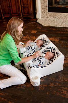 Twin Infant feeding solution - genius!!