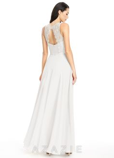 Shop Azazie Bridesmaid Dress - Frederica in Chiffon. Find the perfect made-to-order bridesmaid dresses for your bridal party in your favorite color, style and fabric at Azazie.