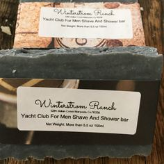 A personal favorite from my Etsy shop https://www.etsy.com/listing/472380267/yacht-club-for-men-shave-and-shower-soap