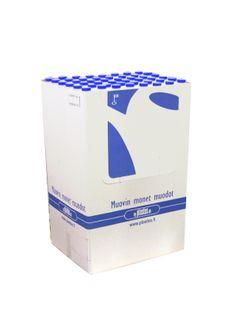 Display-pakkauksessa Plastexin tuotteita.