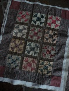Shoo-Fly Doll Quilt