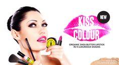 Vegan Faces Organic Kiss Colour Lipstick
