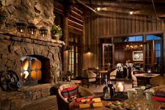 Enchanting Lodge  at Brush creek ranch,in Saratoga, Wyoming.