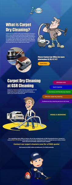 Why is there a need to do a #carpet #dry #cleaning when steam cleaning machines are readily available for use? The answer is simple. #Steamcleaning uses hot water and detergent to clean the carpet and will take time to dry. This means, you will have to wait about 12 to 24 hours to let your carpet sit and be able to use again. With dry carpet cleaning, it uses chemical agents which is more effective in cleaning carpets and no time needed for drying.