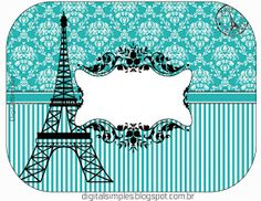 Paris Party, Paris Theme, Tiffany Party, Tiffany And Co, Cupcake Toppers Free, Organizing Labels, Printable Box, Tent Cards, Country Crafts